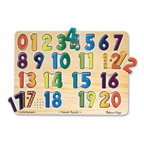 Talking Numbers Sound Puzzle