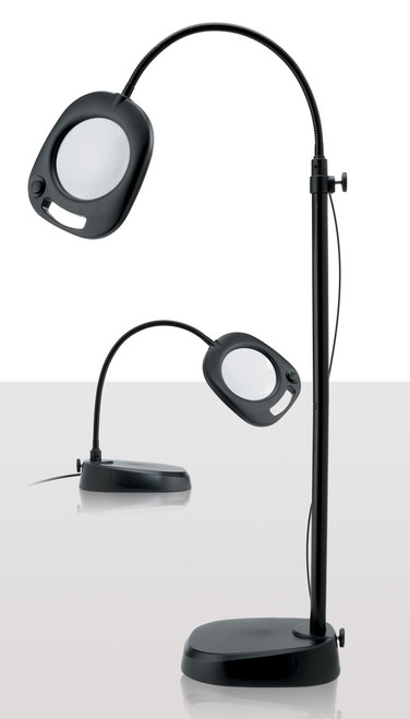2.0X LED Floor/Table Magnifying Lamp by Daylight