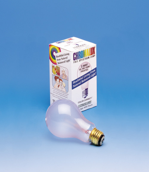 100 Watt Frosted Chromalux Bulb