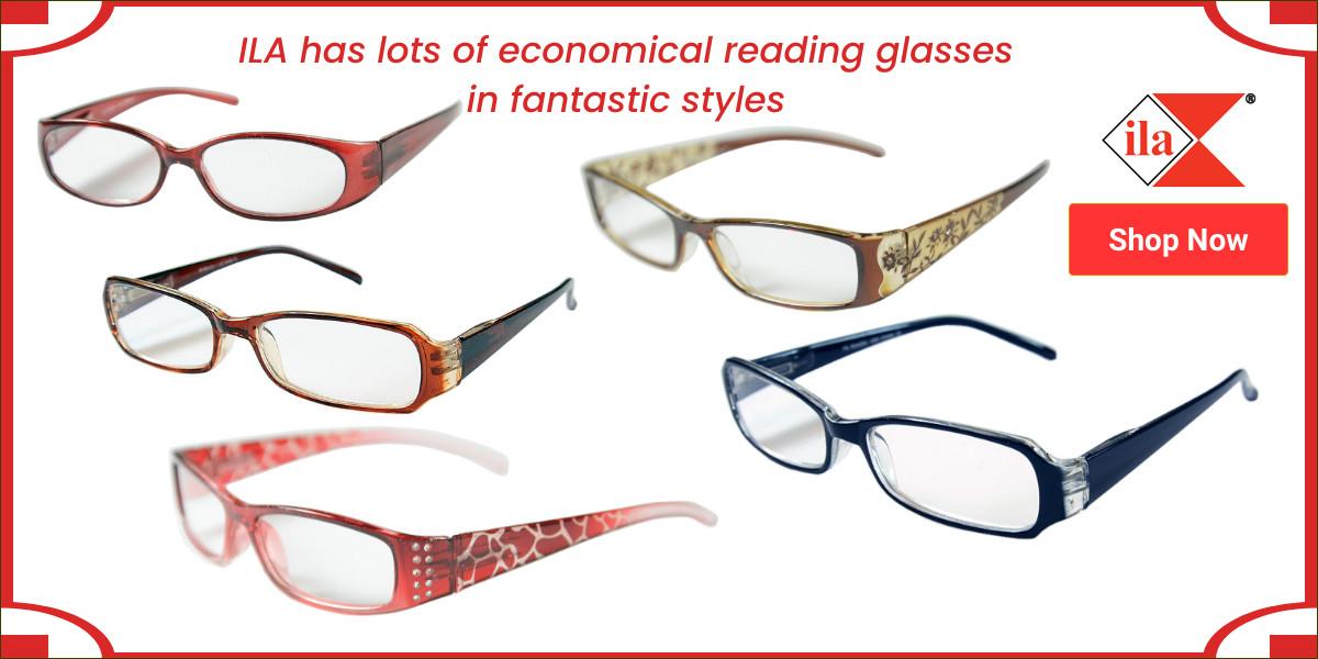 ILA Reading Glasses banner