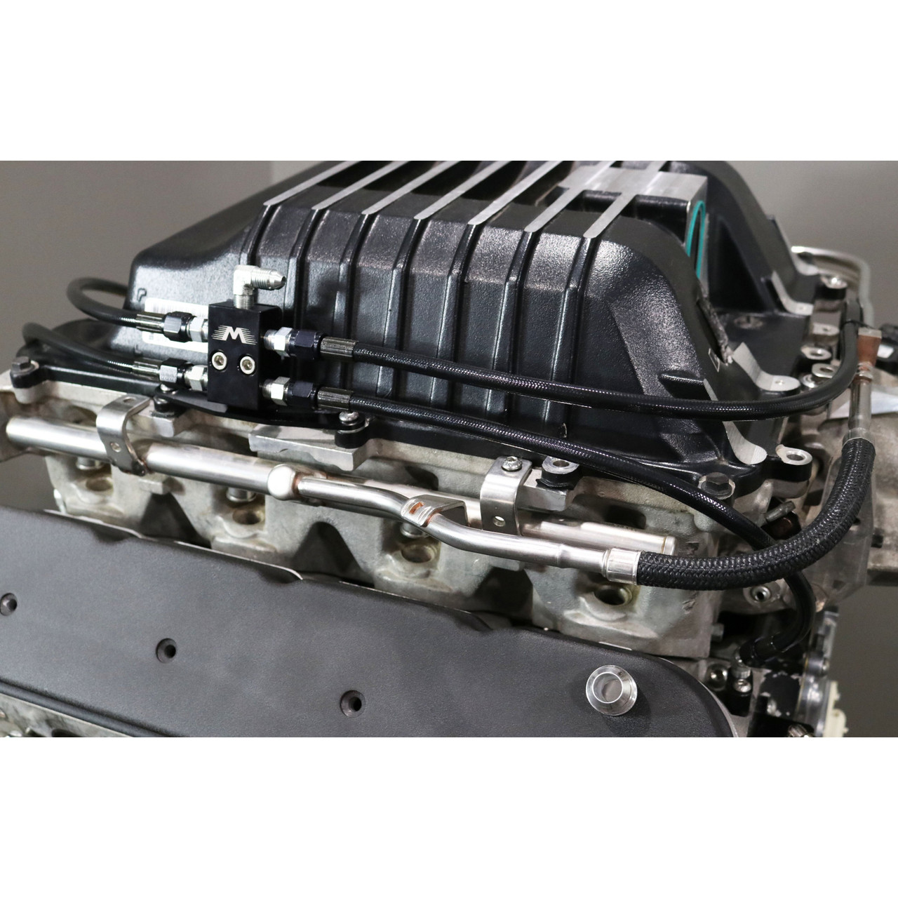 Steam Port Block Off Plate Set LS LS1 Coolant
