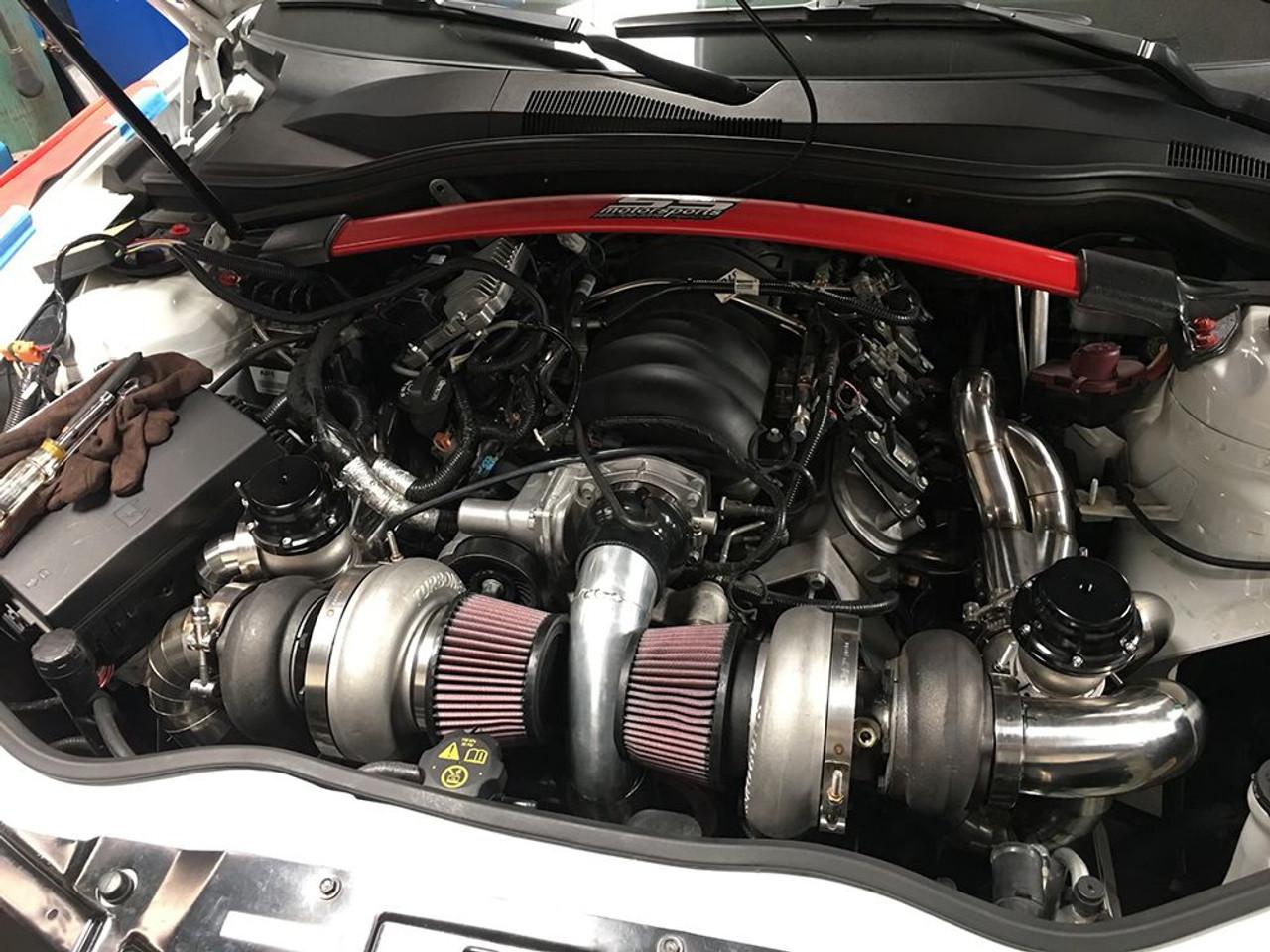 2010-2015 Camaro Universal Turbo Headers (Forward Facing)