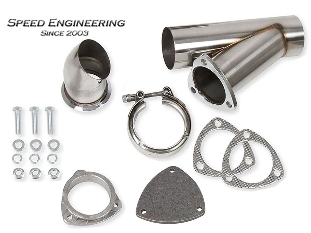"""Speed Engineering Stainless 3"""" Cut-Out"""