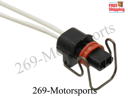 2 Wire Injector Connector IPR Valve Pigtail For 6.0 7.3 Ford PowerStroke Diesel