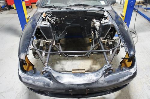 Team Z SN95 Mustang 94-04 Tubular Front End Kit - Welded