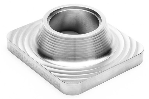 "Street Carr Fabrication Billet T4 Flange Single 2.25"" Open Inlet (T4225S)"