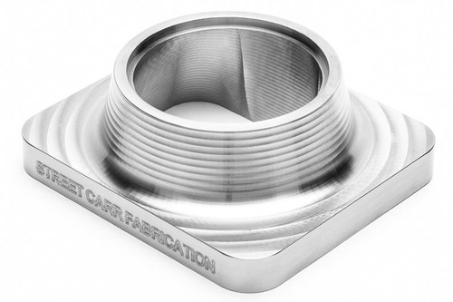 "Street Carr Fabrication Billet T4 Flange Single 2.50"" Open Inlet (T4250S)"