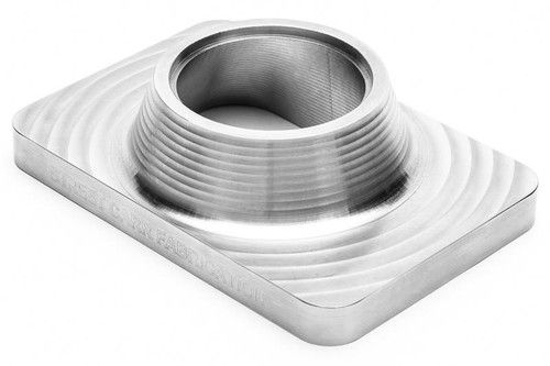 "Street Carr Fabrication Billet T6 Flange Single 2.50"" Open Inlet (T6250S)"