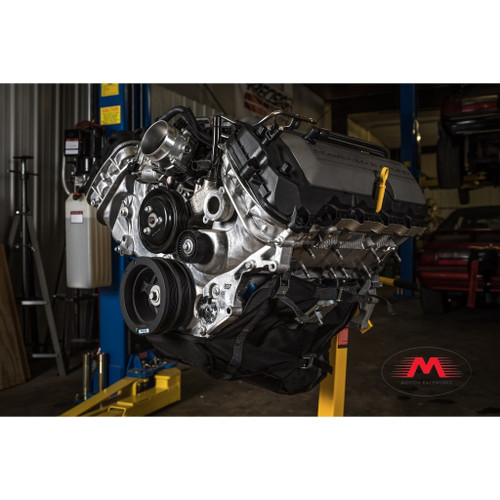 Motion Raceworks 4.6 & 5.4 Modular Ford Engine Diaper, NHRA & IHRA Approved (For Motor Mounts, w/Cutouts)