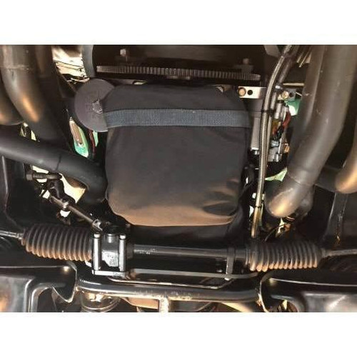 Motion Raceworks SBC Rear Sump Engine Diaper, NHRA & IHRA Approved (For Motor Plate, No Cutouts)