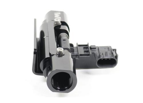 Motion Raceworks Billet Flex Fuel Sensor In Line Sensor Mount For Feed or Return (6AN, 8AN, 10AN) (Sensor Not Included)