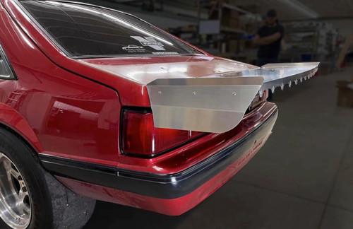 "Motion Raceworks Fox Body Mustang Hatchback 15"" Strutless Wing"