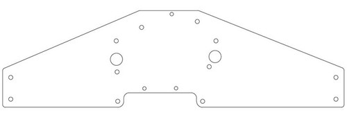 Big Block Ford Motorplate for Timing Chain 1979-2004