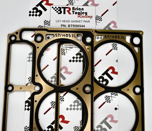 BTR Brian Tooley Racing LS1 LS6 Cylinder Head Gaskets MLS Multi Layer Pair 4.8 5.3 5.7 12589226
