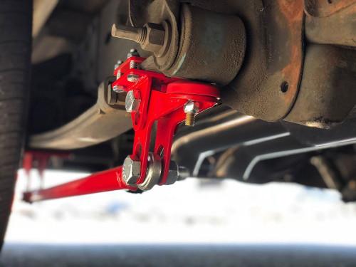 1999-2018 Silverado & Sierra Traction Bars (Standard Axle Position Trucks) Satin Black