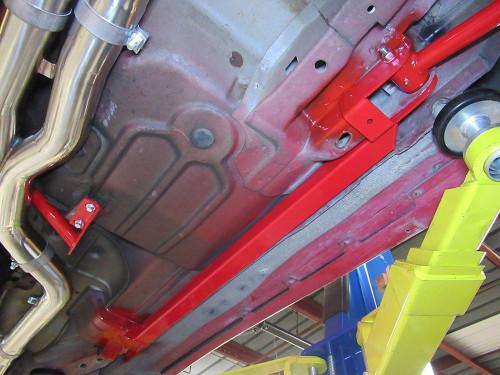 1993-2002 Camaro & Firebird Weld in Subframe Connectors (Red)