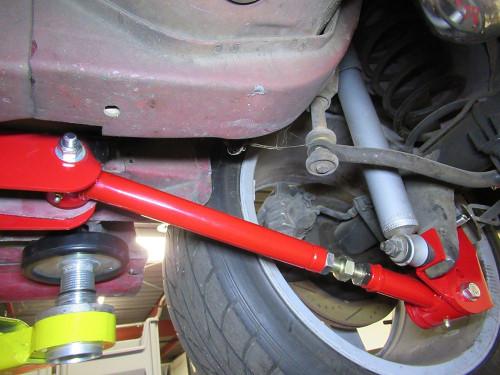 1993-2002 Camaro & Firebird Adjustable Lower Control Arms (Red)