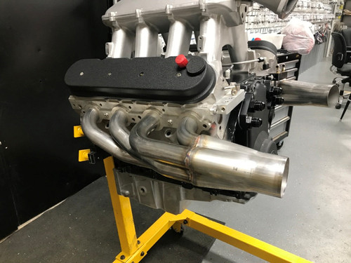 GM LS1 Turbo Headers: Down and Forward LS1DFT - Stainless Works