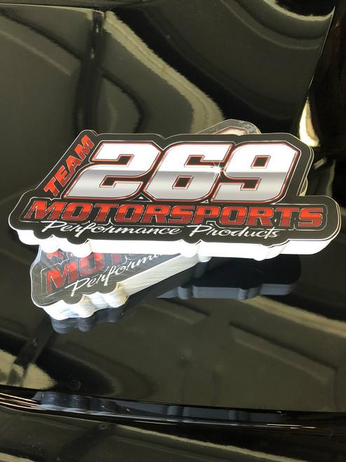"""269 Motorsports Sticker 3""""x7"""""""