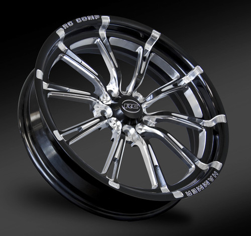 Hammer, Eclipse cut front drag race wheel.