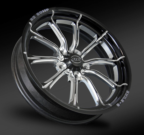 Exile Eclipse front drag race wheel.