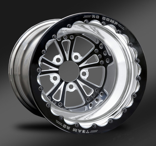 Torx Eclipse Beadlock Wheel • Torx Eclipse center • Polished outer • Eclipse Beadlock