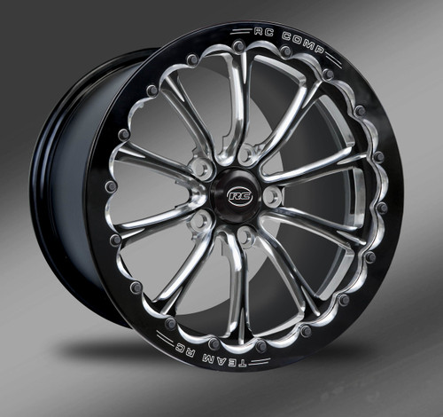 Exile-S Eclipse Finish with Eclipse Beadlock Ring- Street Fighter Wheels