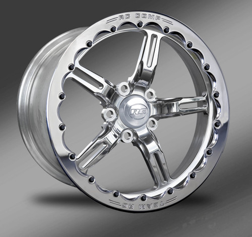 Fusion (polished) Beadlock Street Fighter Wheel