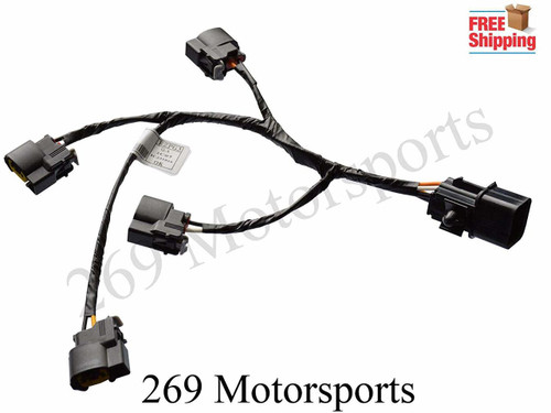 Ignition Coil Wire Harness For 10-14 Veloster Rio Soul 1.6L Replaces 27350-2B000