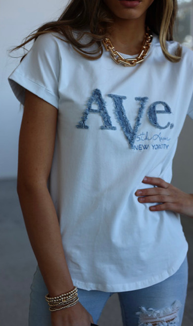 RE AVE JEANS TEE