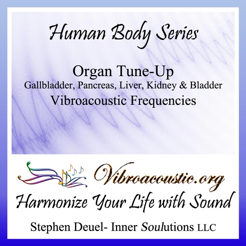 Five Organ Tune Up VAT Frequencies