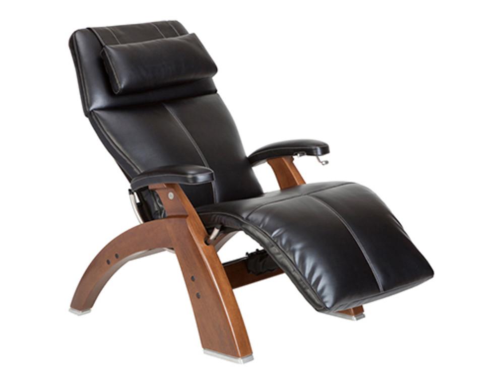 Black Premium Leather - Walnut