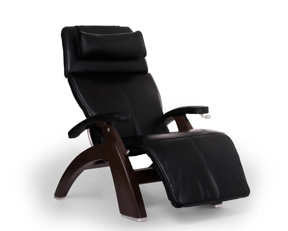 Black Premium Leather - Dark Walnut