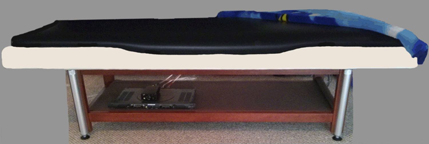 Why the Liquid Sound Table… Because You're Worth It!