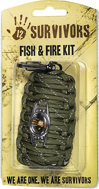 12 Survivors Fish and Fire Kit