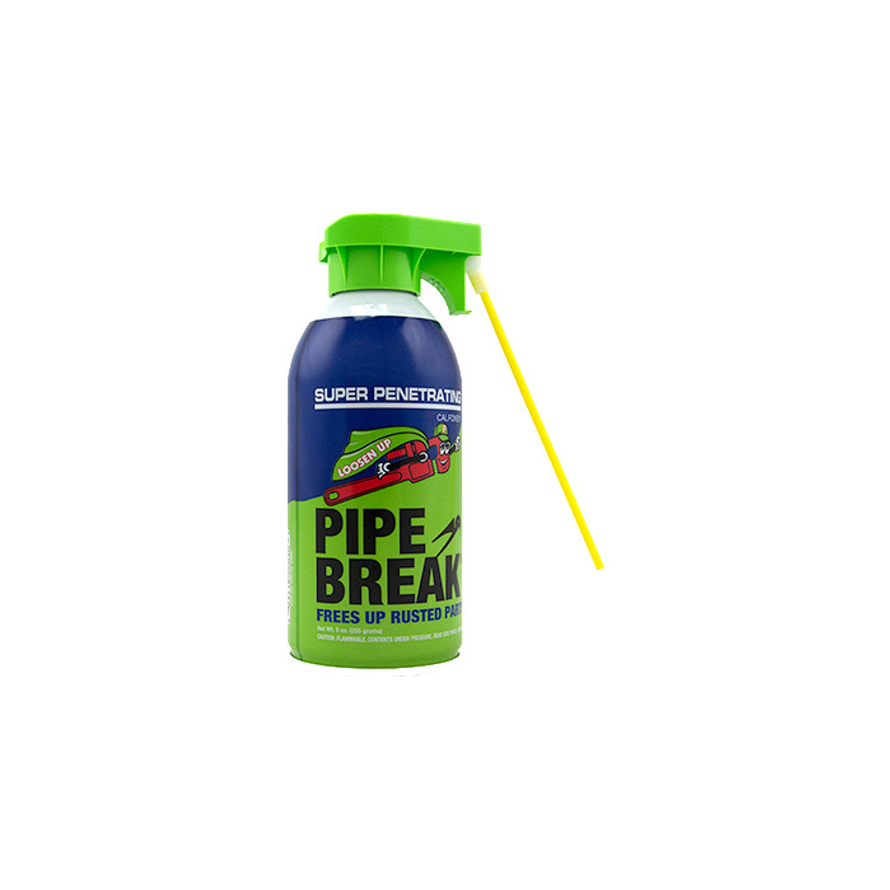 Pipe Break - 9 oz. can with attached Straw (Single Can)
