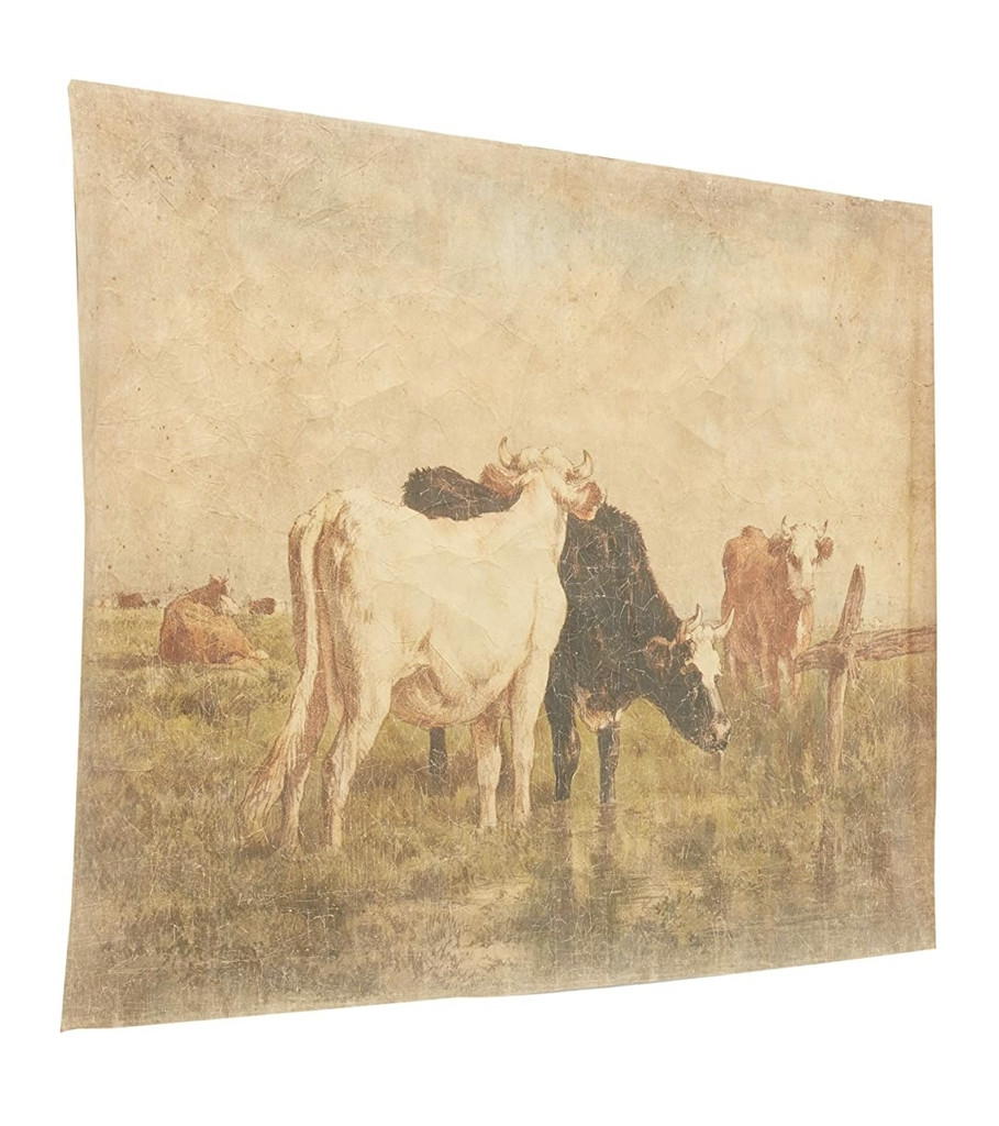Grazing Cows Decorative Paper Wall Décor