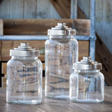 Apothecary Jars,  Set of 3