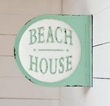 Beach House Sign