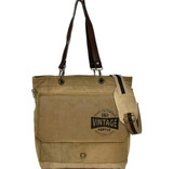 Vintage Supply Crossbody / Messenger Bag