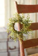 "Baby's Grass Wreath |  10"" | Set of 2"