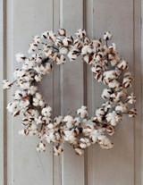 Cotton Wreath, Preserved