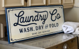 Metal Laundry Co. Sign