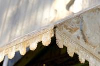 Vintage-Style Tin Shingle Awning