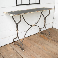 Distressed Sewing Factory Console Table