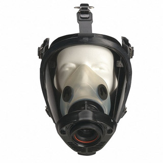 North by Honeywell 252022 Full Face Respirator, M, Lung Demand Valve