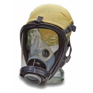 North by Honeywell 252036 full Face Respirator With Headnet, Large w/Large Medium Nose Cup