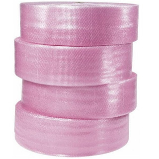 """Anti-Static Air Bubble Rolls, Perforated, 3/16"""" x 12"""" x 750', 4 Pack"""
