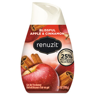Adjustables Air Freshener, Blissful Apples and Cinnamon, 7 oz Cone, 12/Carton