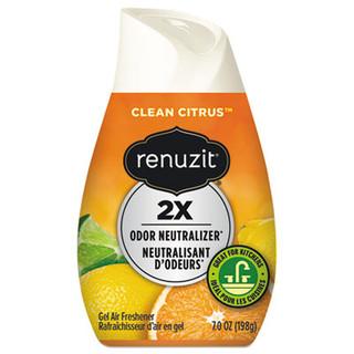 Adjustables Air Freshener, Citrus Sunburst, 7 oz Cone, 12/Carton